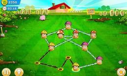 Screenshot von Draw My Garden ist ein farbenfrohes Denkspiel bei dem du Großes erschaffst.