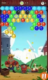 Screenshot von Bubble Clash, der neue aufregende Blasen-Platz-Spaß wartet auf dich!