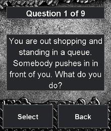 Screenshot von Kannst Du Dich durchsetzen?