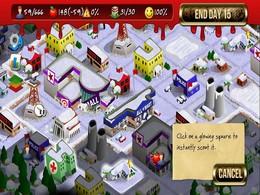 Screenshot von Ein rundenbasiertes Strategiespiel, mitten in der Zombie Apokalypse, für iOS und Android.