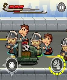 Screenshot von Spielen Sie einen verrückten Ritterboten, der seinen Auftraggebern Gegenstände überbringt. Dabei nehmen Sie alle Hindernisse auf sich und überwinden sie.