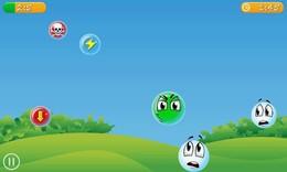 Screenshot von Hungry Bubbles ist ein simples aber süchtig machendes Spiel, welches du überall spielen kannst, egal wie viele Zeit du hast.
