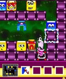 Screenshot von Kreiere verschiedene Kombinationen aus den gleichfarbigen Würfeln und hole sie in ihre Heimat zurück!