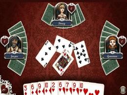 """Screenshot von Ein Spiel, so glatt, es werde """"Shoot the Moon"""" durch Diebstahl dein Herz! Die meistverkauften Aces ®-Linie bringt das klassische Spiel der Herzen auf Android."""