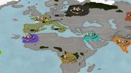 Screenshot von Age of Conquest ist ein mittelalterliches rundenbasiertes Strategiespiel ähnlich wie Risk. Nimm die Zügel eines aufblühenden Imperiums in die hand und kämpfe mit anderen Imperien um die Weltherrschaft.