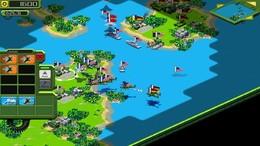 Screenshot von Tropical Stormfront ist ein Echtzeit-Strategiespiel in einer tropischen Kulisse. Übernehmen Sie die Kontrolle und nehmen Sie am ultimativen Kampf zwischen Gut u