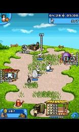 Screenshot von Kümmere dich um Hühner, Schafe und Kühe, und produziere Kuchen, Wolle, Butter und Käse.
