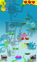 Screenshot von Wissenschaftler haben ein böses Monster geschaffen, als das Experiment fehlschlug. Hilf der Labor-Maus zu entkommen: Spring!