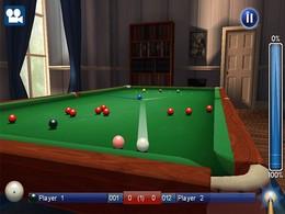 Screenshot von World Snooker Championship ist das umfassendste Snookerspiel für dein Handy, bei dem du es mit den Besten im Snooker aufnimmst!