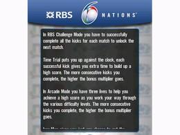 Screenshot von RBS 6 Nations Rugby ist einer der Höhepunkte im Sportgeschehen. Intuitive, leicht zu spielende Antipp-Funktionsweise ist ein Muss!