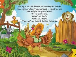 """Screenshot von Die """"Read and Play"""" Serie ist eine selbst-gemachte Kollektion von Geschichten mit Bildern für Kinder. Jedes Buch enthält ein klassisches Märchen, bereit von deinem Kind entdeckt zu werden."""