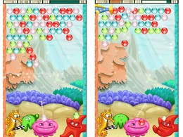 Screenshot von Füge die Juwelen zusammen, lasse die Blasen zerplatzen und bahne dir den Weg durch dieses 3 fuer 1 Spieleset.