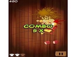 Screenshot von Müde vom Früchte schneiden & hacken? Wie wär's mal mit Pizza, du Ninja!