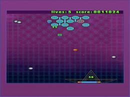 Screenshot von 4 klass. Arcade-Games z. Preis von 1! Breakthru, Megamaze, Meteorz und Earth Invaders! Unschlagbar günstig, macht supersüchtig!