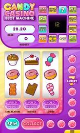 Screenshot von Gewinne den süßen Jackpot in Candy Casino! Probiere den lecker süchtigen Gewinnautomat! Dein Reichtum erwartet dich!