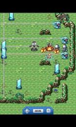 Screenshot von Jedes Level ist ein Labyrinth voller Hindernisse, Fallen und gefährlicher Gerätschaften.