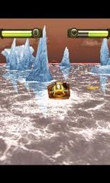 Screenshot von Drei bis aufs Blut verfeindete Clans. Das ist Battle Boats 3D.