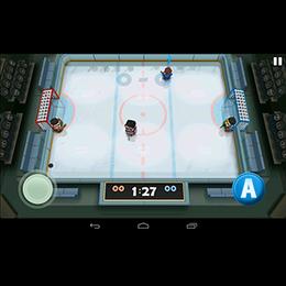 Screenshot von Das beliebteste Sportspiel für Smartphones in mehr als 70 Ländern! Der Himmel für Hockeyfans!
