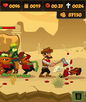 Screenshot von Zombie Chase 2
