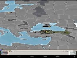 Screenshot von Age of Conquest ist ein mittelalterliches Runden basiertes Strategie-Spiel wie Risiko. Übernimm die Kontrolle über ein angehendes Imperium und ringe mit anderen Imperien um die Kontrolle von Europa.