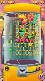 Screenshot von Hilf der kleinen Suzie, ein Paar Bonbons zu bekommen! Versuche dein Glück an den Bonbonautomaten, aber pass auf, einige können ganz schön verzwickt sein!
