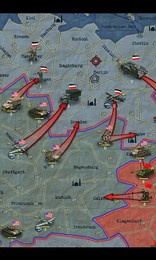 Screenshot von Vollziehe mit diesem Strategie-Meisterwerk die größten Schlachten des 2.Weltkriegs nach.