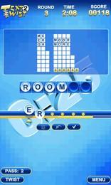Screenshot von Twist Briefe wieder mit TextTwist 2, der Fortsetzung zu einem der beliebtesten Wortspiele aller Zeiten! Mischen Sie die Buchstaben und Wörter bilden in fünf herausfordernden Spielmodi.