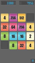 Screenshot von Das populäre Rätsel von Gabriele Cirulli jetzt auch für dein Handy! Kombiniere die Zahlen, um 2048 zu bekommen!