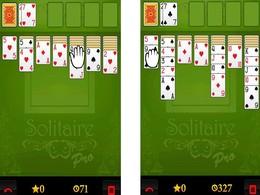 Screenshot von Solitaire ist ein Sucht-und Kartenspiel.