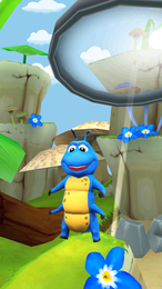 Screenshot von Rette einem Käfer das Leben mit Turbo Bugs 2 - ein süßes und unglaublich sucherzeugendes Käfer-Laufspiel!