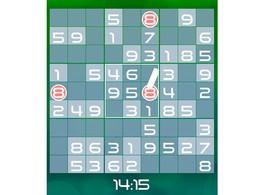 Screenshot von Bist du der typ, der immer ein sudoku dabei haben muss? Spiele das klassische japanische zahlenrätselspiel wann und wo du willst!
