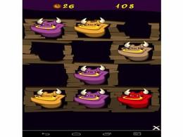 Screenshot von Whack A Bull ist ein Spiel für geschickte Finger und rasches Gedächtnis.