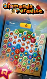 Screenshot von Hole dir Diamanten Paradies und geniesse Star Arcade - die Nummer eins der Mobile Social Gaming Netzwerken!