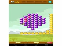 Screenshot von Ballonallarm! Hilf den Bienen der Balloninvasion Stand zu halten und platze je mehr Ballons! Schließe neue Levels auf und erwerbe die höchst möglichen drei Sterne Wertungen!