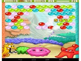 Screenshot von Platze dir deinen Weg zum blasigen Erfolg mit diesem klassischen Logikpuzzlespiel. Platziere 3 oder mehr Blasen derselben Farbe nebeneinander, um sie zerplatzen zu lassen. Erlebe die neuen Level und Spielmodi und finde dabei besondere Boni.
