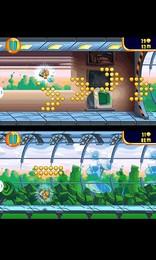 Screenshot von Leg dem süßen Hamster einen Jetpack an & brecht aus dem Labor aus. Weiche elektrischen Fallen und Raketen aus & sammle Münzen!