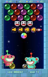 Screenshot von 5 tolle Blasenspiele zum Preis von 1! Klassischer Puzzle- und Arkadenstil! Süße Grafiken und Spaß ohne Ende!