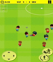 Screenshot von Freust du dich schon auf die nächste Fußballmeisterschaft? Dann stelle dein Fußballtalent jetzt jederzeit und überall unter Beweis.