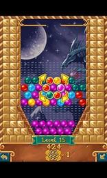 Screenshot von Jewel Spin ist ein völlig neuartiges Spiel basierend auf klassischen Rätseln, mit mehreren verschiedenen Spielweisen und mehr als einhundert Leveln.
