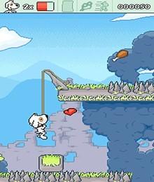 Screenshot von Es war einmal ein mutiger Hund Dingo. Dingo hatte viele Freunde und hat ihnen bereitwillig geholfen. Lebe Dich in die Rolle des mutigen Hundes Dingo hinein und hilf Deinen Freunden!