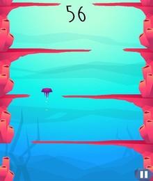 Screenshot von Die Kleine Medusa hat sich in einem endlosen Ozean voller Korallenriffe verirrt.