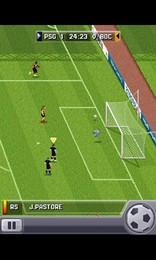 Screenshot von Erlebe Traumfußball auf Mobilgeräten. Feiere jeden Angriff, jedes Tor und jeden überragenden Sieg. Hol dir EA SPORTS FIFA 16!