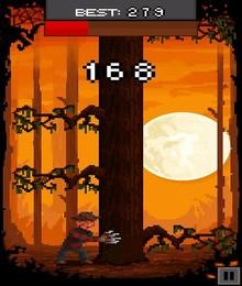 Screenshot von Halloween und gruselig kalte Nächte stehen vor der Tür! Deshalb brauchen auch Monster Feuerholz für ihren Kamin.