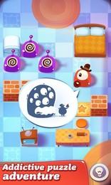 Screenshot von Süchtig machendes Puzzle-Abenteuer mit innovativen Kleb-sie-zusammen-Mechaniken.