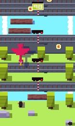Screenshot von Schlüpfe in die Rolle eines Tieres, das versucht, auf die andere Seite zu gelangen.