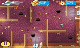 Screenshot von Oje! Shaggy ist in einer gespenstigen Gruft eingesperrt. Kannst du das Grabmal überstehen und deinen treuen Freund Shaggy befreien?
