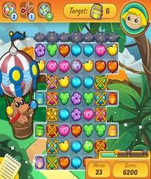 Screenshot von Dieses fantastische Abenteuer führt dich in eine Welt, in der du farbenfrohe Ballons zusammenführen musst!
