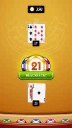 Screenshot von Blackjack zählt zu den populärsten Kasinospielen weltweit. Schau, ob du ein glückliches Händchen und die besten Karten hast.