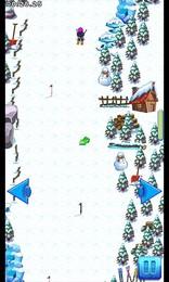 Screenshot von Staub deine Skier ab, frisch deine Fähigkeiten auf und mach dich bereit: Abfahrt, Slalom, Riesenslalom  wähl deine Disziplin!