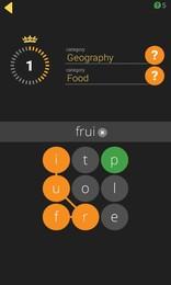 Screenshot von Wortgewirr ist ein lustiges Wortsuche Spiel mit einem Twist.